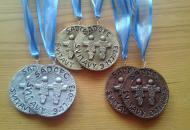 Vlastnoručně vyrobené SadoFC medaile, Lokalita: Svitavy, Datum: 9.11.2013, Autor: flam