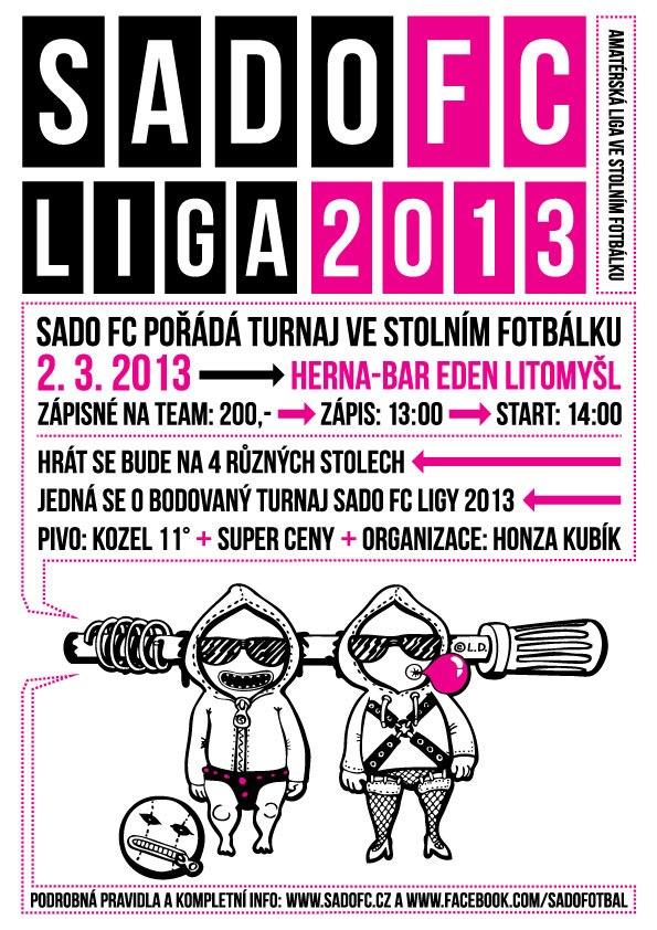 SadoFC turnaj ve stolním fotbálku - Eden Litomyšl