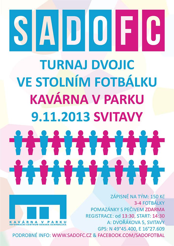 SadoFC turnaj ve stolním fotbálku - Svitavy