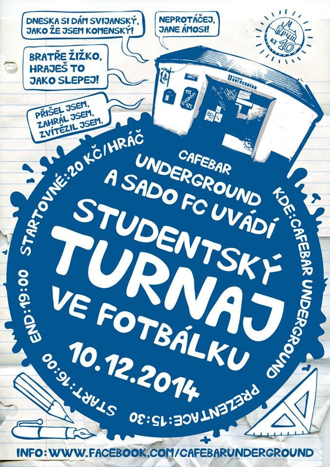 Studentský turnaj ve fotbálku - Litomyšl