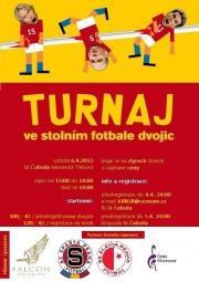 Turnaj ve stolním fotbálku - Moravská Třebová
