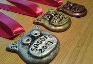 Vlastnoručně vyrobené SadoFC medaile