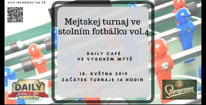 Mejtskej turnaj ve stolním fotbálku vol.4