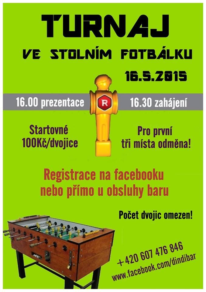 Turnaj ve stolním fotbálku - Dindi Bar Litomyšl