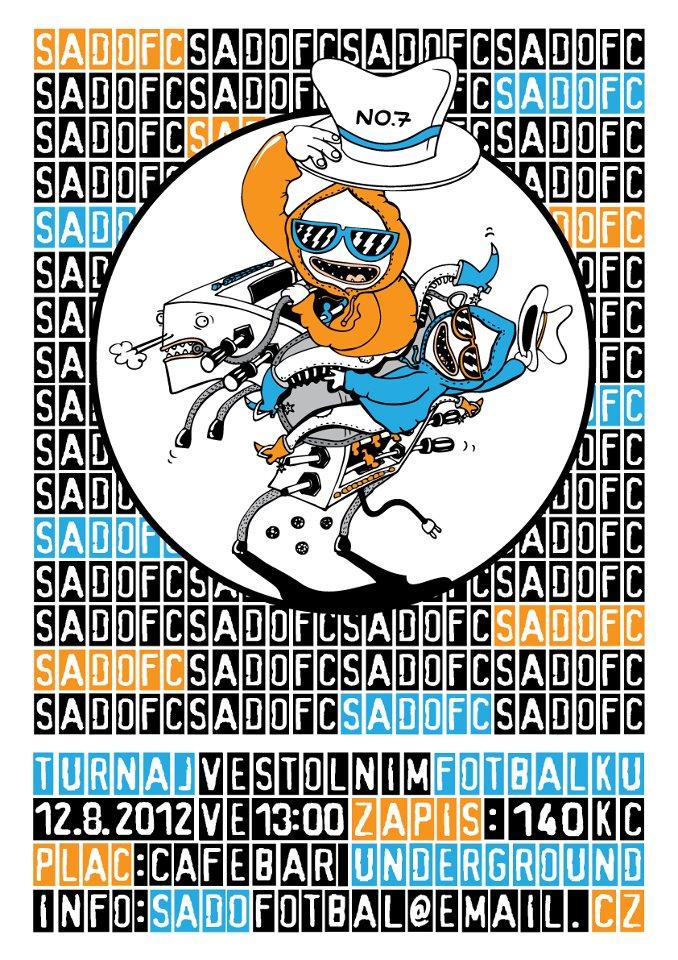 SadoFC turnaj ve stolním fotbálku No. 7