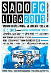 SadoFC turnaj ve stolním fotbálku - Cafebar Underground Litomyšl