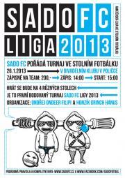 SadoFC turnaj ve stolním fotbálku - Divadelní klub Polička